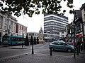 Silver Jubilee Statue in High Street Maidstone - geograph.org.uk - 1564384.jpg