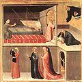 Simone Martini - Blessed Agostino Novello Altarpiece (detail) - WGA21427.jpg