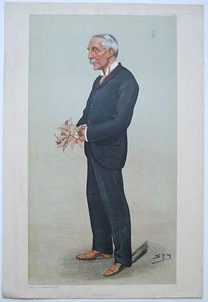 Trevor Lawrence - Caricature of Sir Trevor Lawrence by SPY (Sir Leslie Ward), Vanity Fair, 1899