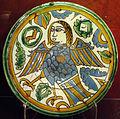 Siviglia, piatto con decorazione 'acuerda seca', 1500 ca. 01.JPG