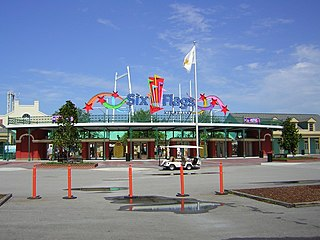 Six Flags New Orleans Abandoned theme park in New Orleans, Louisiana