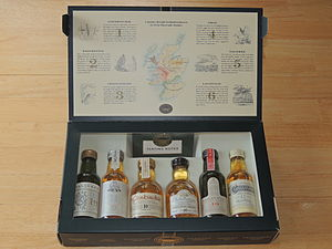 Classic Malts of Scotland - Six Classic Malts of Scotland inside the box