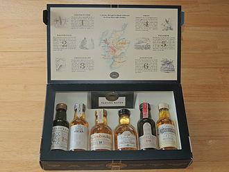 Classic Malts of Scotland - Six Classic Malts of Scotland inside the box