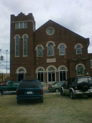 Sixth Mount Zion Baptist Church - Sixth Mount Zion Baptist Church, July 2011