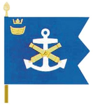 Gulf of Finland Naval Command - Image: Sl Mepa lippu