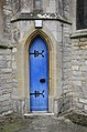 Slimmer's door, Ringwood Church - geograph.org.uk - 174036.jpg