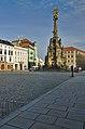 Sloup se sousoším Nejsvětější Trojice, Olomouc.jpg