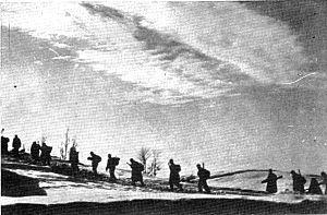 Liberation Front of the Slovene Nation - Slovene Partisans in winter 1942.