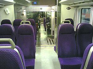 VR Class Sm4 - Image: Sm 4 lähijuna sisältäpäin