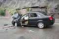 Smashed Car in Dujiangyan - 2008 Sichuan earthquake (1).jpg