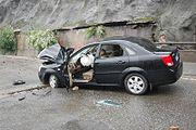 Smashed Car in Dujiangyan - 2008 Sichuan earthquake (1)