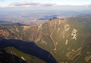 Krkonoše Czech and Polish mountain range