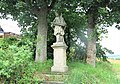 Socha svatého Jana Nepomuckého u domu 406 ve Starých Křečanech (Q104983723) 01.jpg