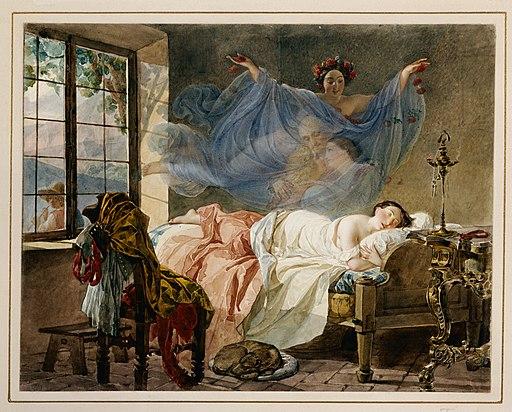Sogno di una fanciulla 1833