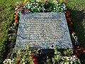 Somain - Fosse De Sessevalle, plaque commémorative.JPG