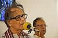Somendranath Bandyopadhyay Addressing - Biswatosh Sengupta Solo Exhibition Inauguration - Kolkata 2015-07-28 3255.JPG