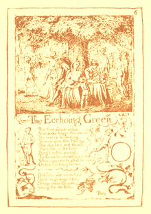 Songs of Innocence and Experience, page 6 (Ellis facsimile).png