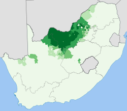 South Africa 2001 Tswana speakers proportion map.svg