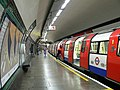South Wimbledon tube station - 1995 Stock train.jpg