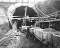 South portal of the Great Northern Railroad tunnel, Seattle (CURTIS 1543).jpeg