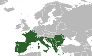 Southern Europe Region of the European continent