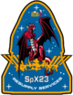 SpaceX CRS-23 Patch.png
