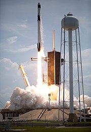 Pelancaran Dragon 2 dan Falcon 9 oleh SpaceX-NASA