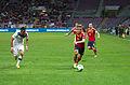 Spain - Chile - 10-09-2013 - Geneva - Mauricio Isla and Ignacio Monreal 2.jpg