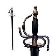 Spanish cavalry sword 1728 pattern-Musée de l'Armée