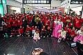 Special Olympics World Winter Games 2017 arrivals Vienna - South Korea team 02.jpg