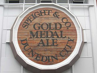 Speight's - Sign at the Speight's Brewery in Dunedin