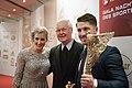 Sportler des Jahres Österreich 2016 Eva-Maria Brem Marcel Hirscher Bernhard Maier 1.jpg