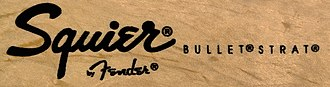 Fender Bullet - Stamp that appears on the guitar's headstock.