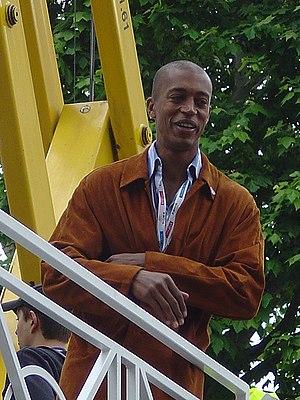 Stéphane Diagana - Image: Stéphane Diagana 2005