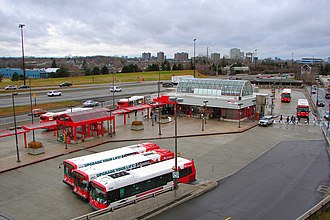 OC Transpo - St. Laurent Station