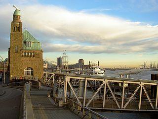 St. Pauli, Hamburg, Harbour, Landungsbrucken