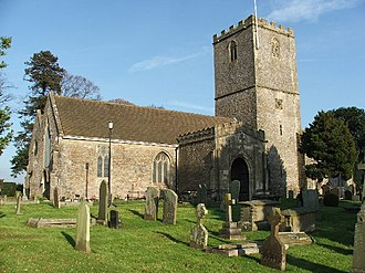 Caldicot, Monmouthshire - Parish church of St. Mary