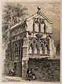 St. Mary's Conduit, Lincoln, England. Tinted lithograph by F Wellcome V0012837.jpg