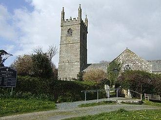 Mawgan-in-Meneage - St Mawgan-in-Meneage church