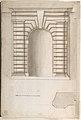 St. Peter's, apse, window, elevation (recto) Unidentified, portal, elevation (verso) MET DP810521.jpg