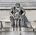 St James's Park Station sculptures – Day by Jacob Epstein.jpg
