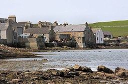 St Margaret's Hope on South Ronaldsay