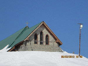 Gulmarg - St Mary's Church in Gulmarg