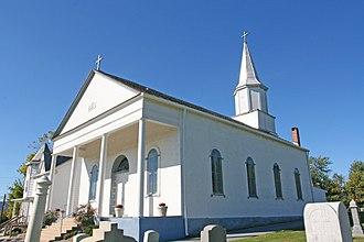 Petersville, Maryland - St. Mary's Roman Catholic Church in Petersville