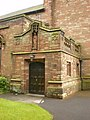 St Peter's, Parish Church of Newton-in-Makerfield, Newton-le-Willows, porch - geograph.org.uk - 1316169.jpg