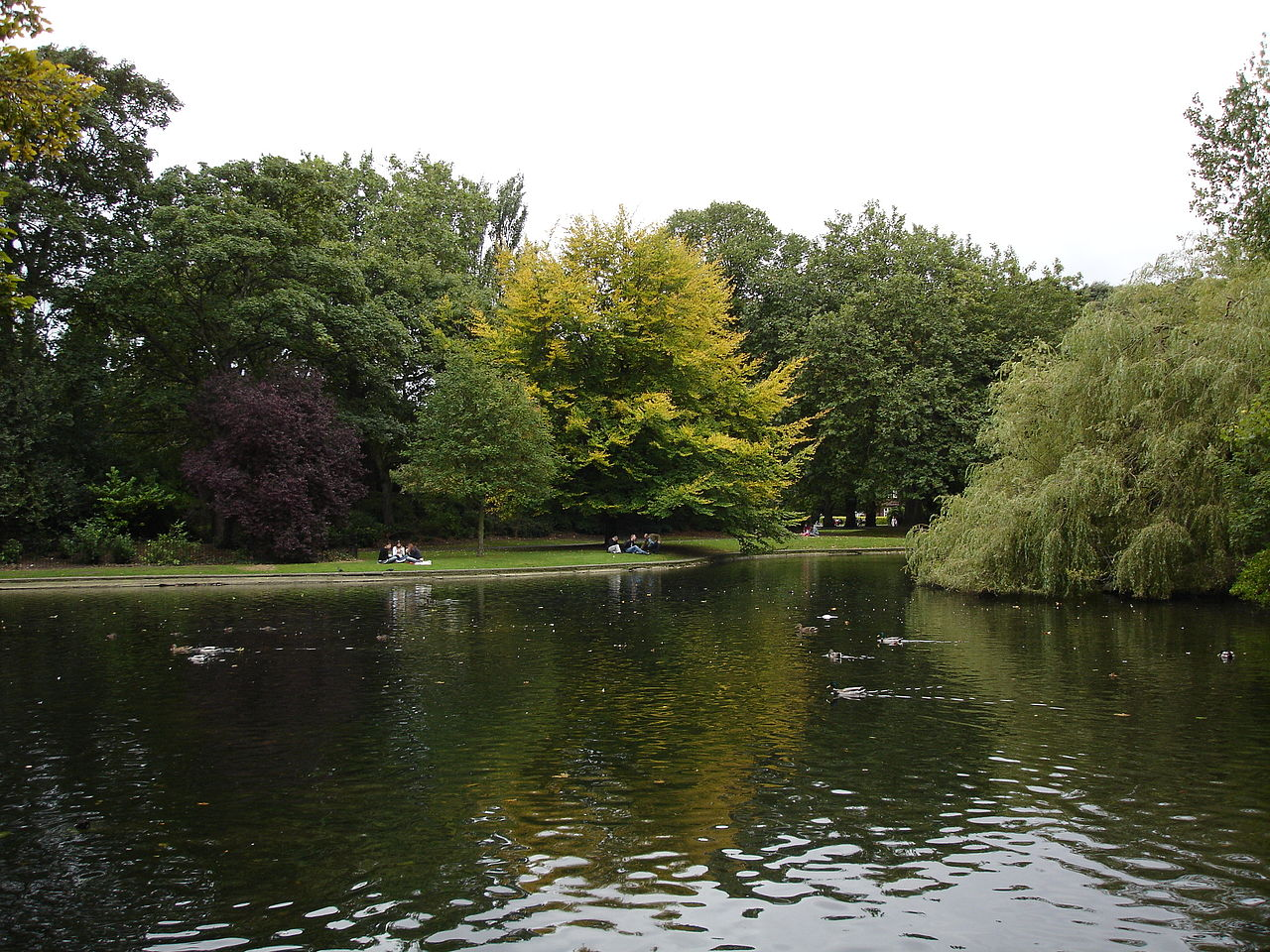 St Stephen's Green, Dublin