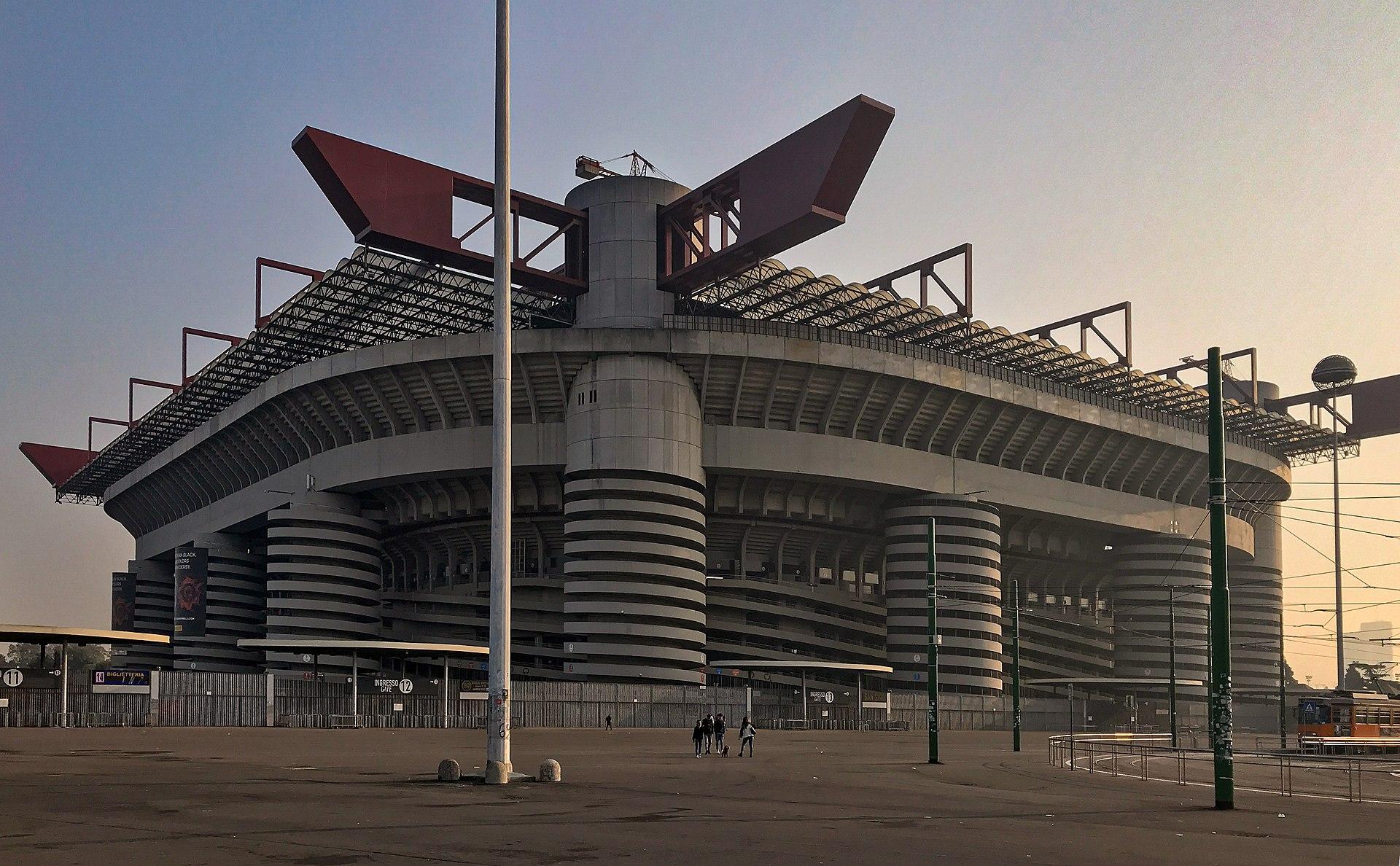Football Stadiums - San Siro, Milan