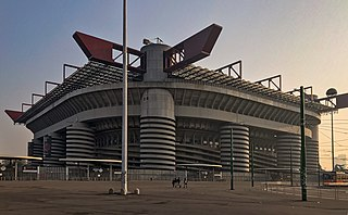 San Siro Stadium in Italy