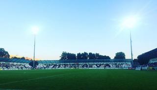 Stadium Myjava football stadium in Myjava, Slovakia