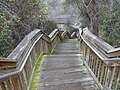 Stairs to White Springs Bath site.JPG